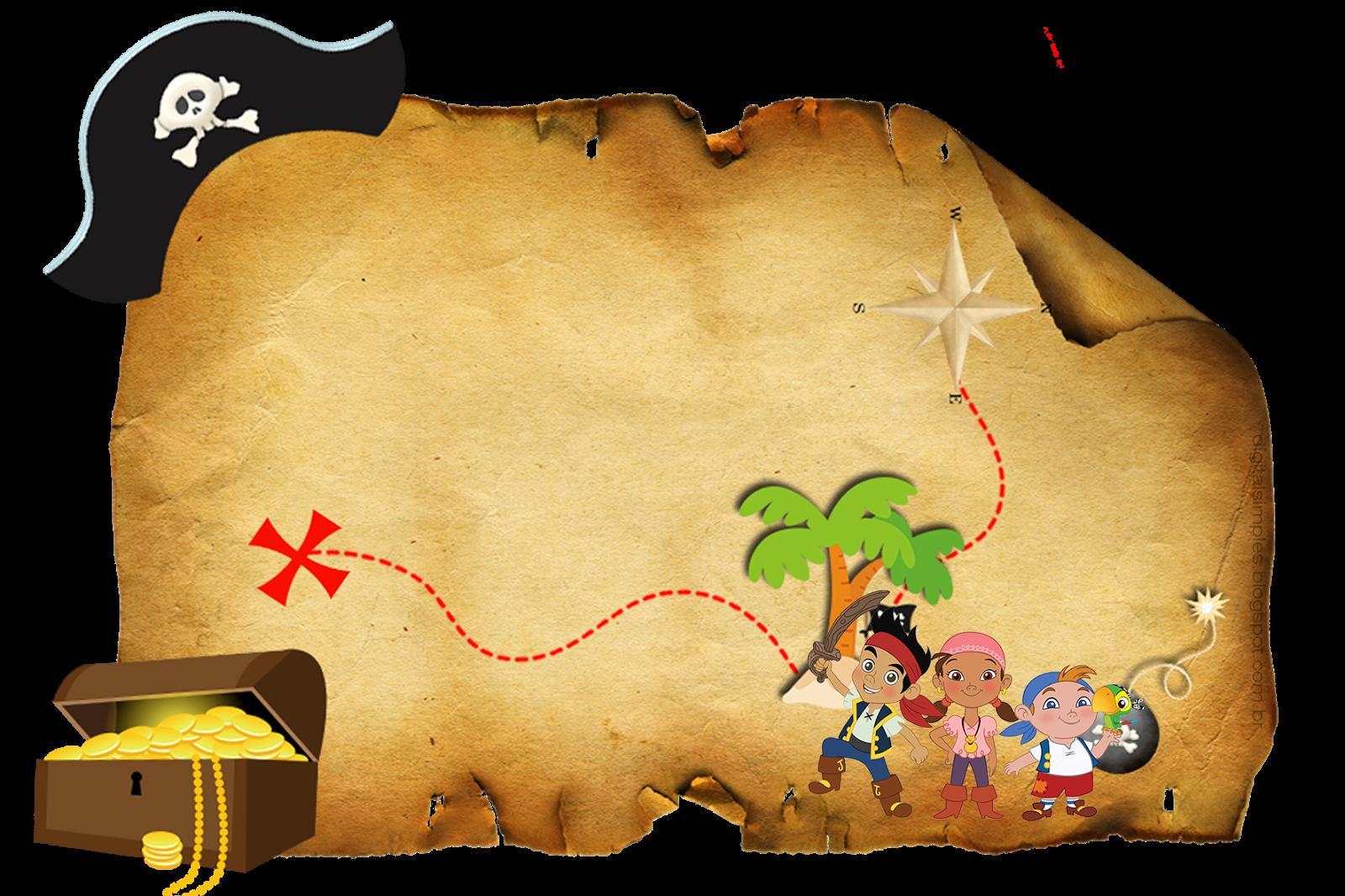 Jake Neverland Pirates Invitations for nice invitation template