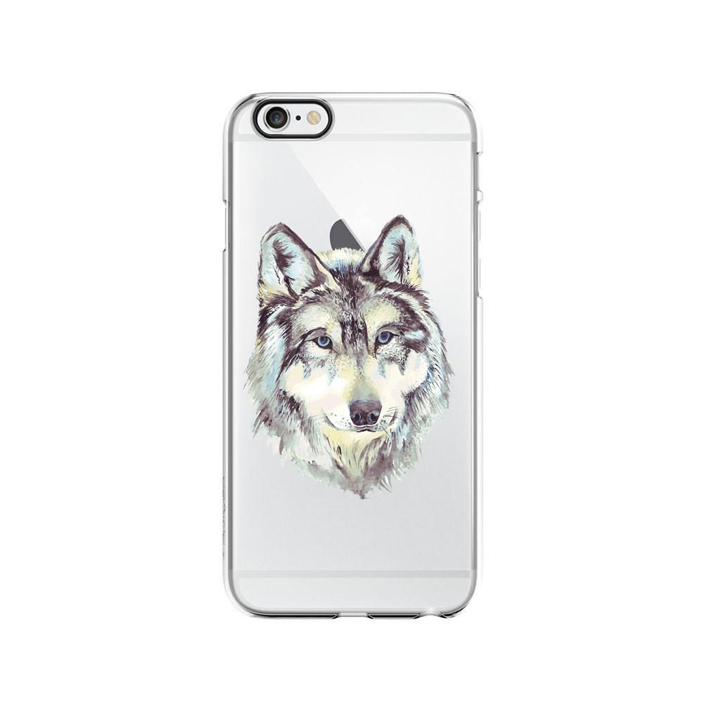Wolf Flexible Plastic Phone Case/Cover For iphone Apple