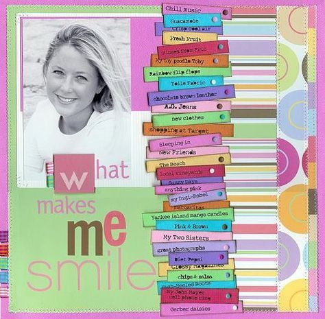 About Me Scrapbook Page Google Search Scrapbook Pinterest