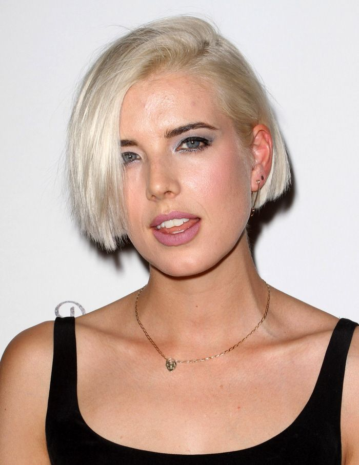 Celebitchy Agyness Deyn Finally Admits That Shes Been