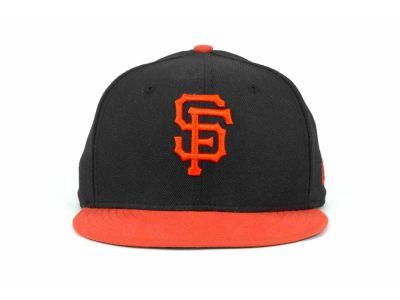 New Era MLB San Francisco Giants Snapback Hats Cap Black Orange 3973! Only  $7.90USD