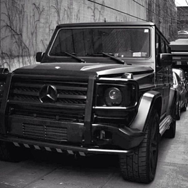 Black On Black Mercedes G55 Amg 3 With Images Mercedes G G Class