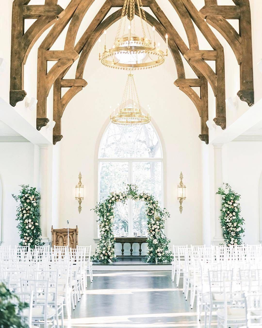 Wedding Chapel Decoration Ideas: Chapel Wedding, Romantic Wedding