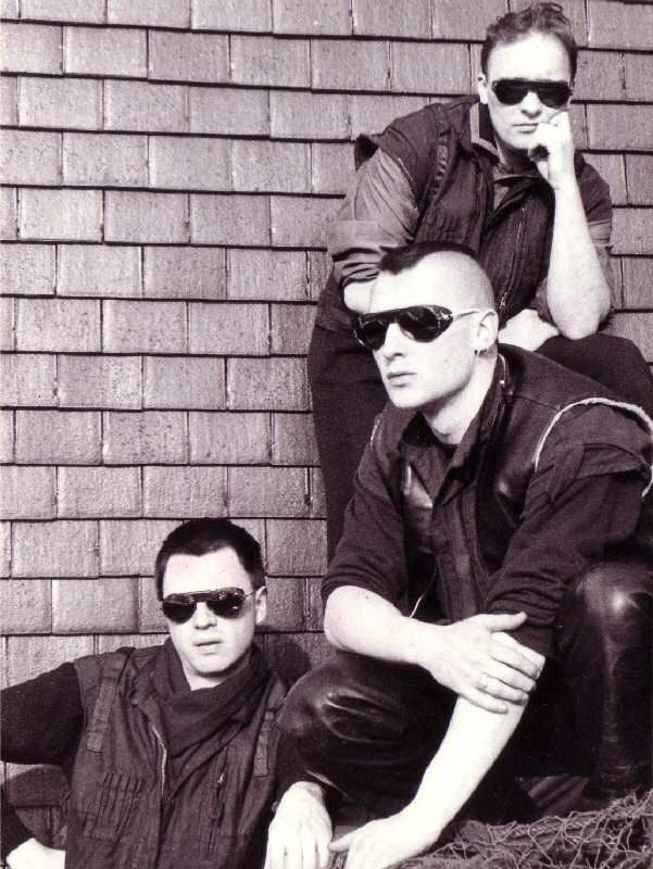 Front 242. 80s EBM. One of the first EBM bands. Way before anyone ever heard of Futurepop.
