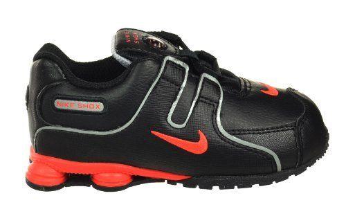 b34e64f49923 Nike Shox NZ SMS (TD) Baby Toddler Running Shoes Black Bright Crimson Nike