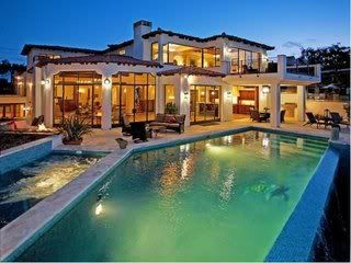 Huge House And Huge Pool Million Dollar Homes Dream House My