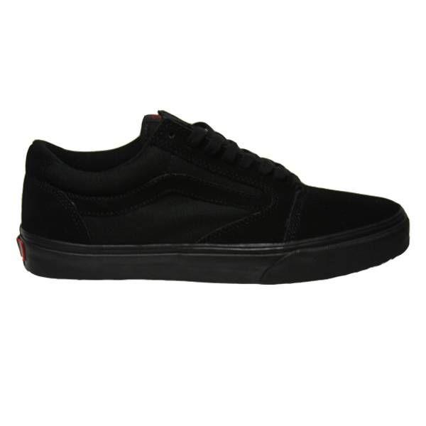 Vans TNT 5 Pitch Black Skate Shoe