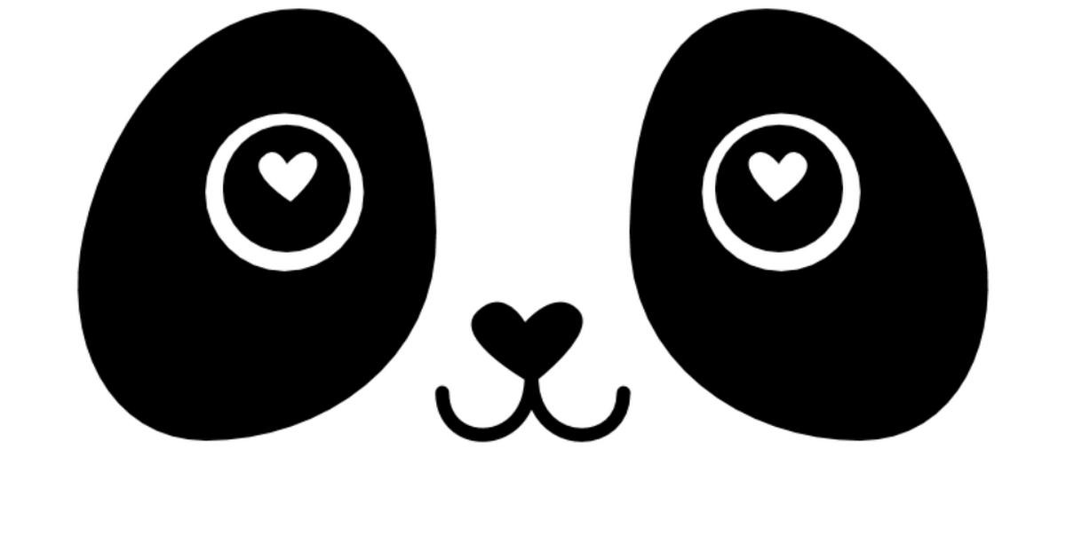 Panda Valentine Boxsvg Ideas For The Kids Pinterest