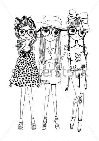 Tres Hermanas Sisters 인체