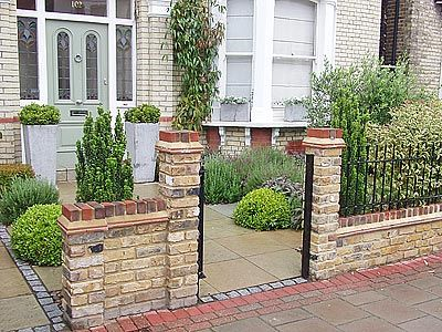front garden design on green dot gardens garden designers in outer london from the gardening - Front Garden Ideas London