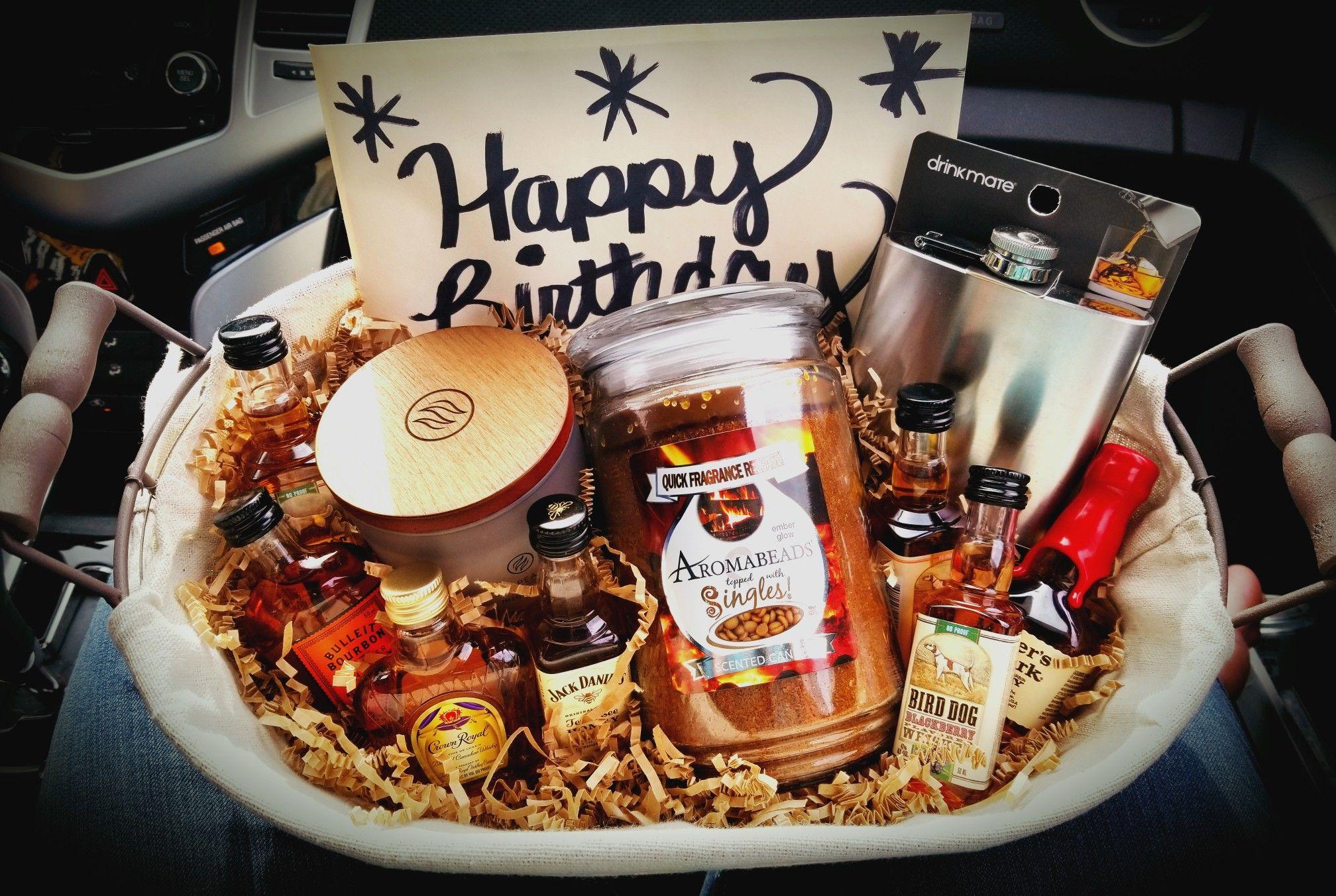 Cigar whiskey gift basket whiskey gifts basket