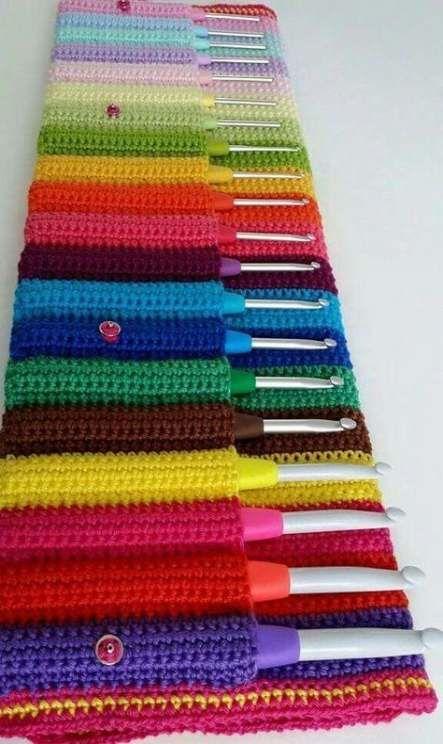 Knitting needles case diy crochet hooks 65+ Ideas for 2019