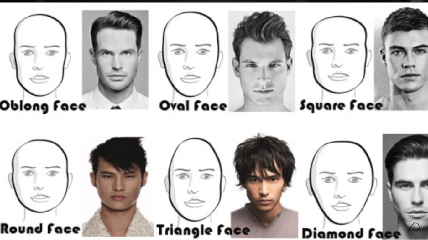 great hairstyles for men for different face shapes long and