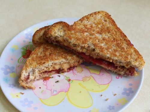 Grilled PB & JSandwiches - Fun Alternative to Grilled Cheese!