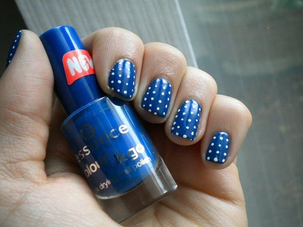Blue With Micro-Dots