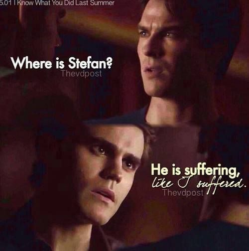 "S5 Ep1 ""I Know What You Did Last Summer"" - Damon & Silas"