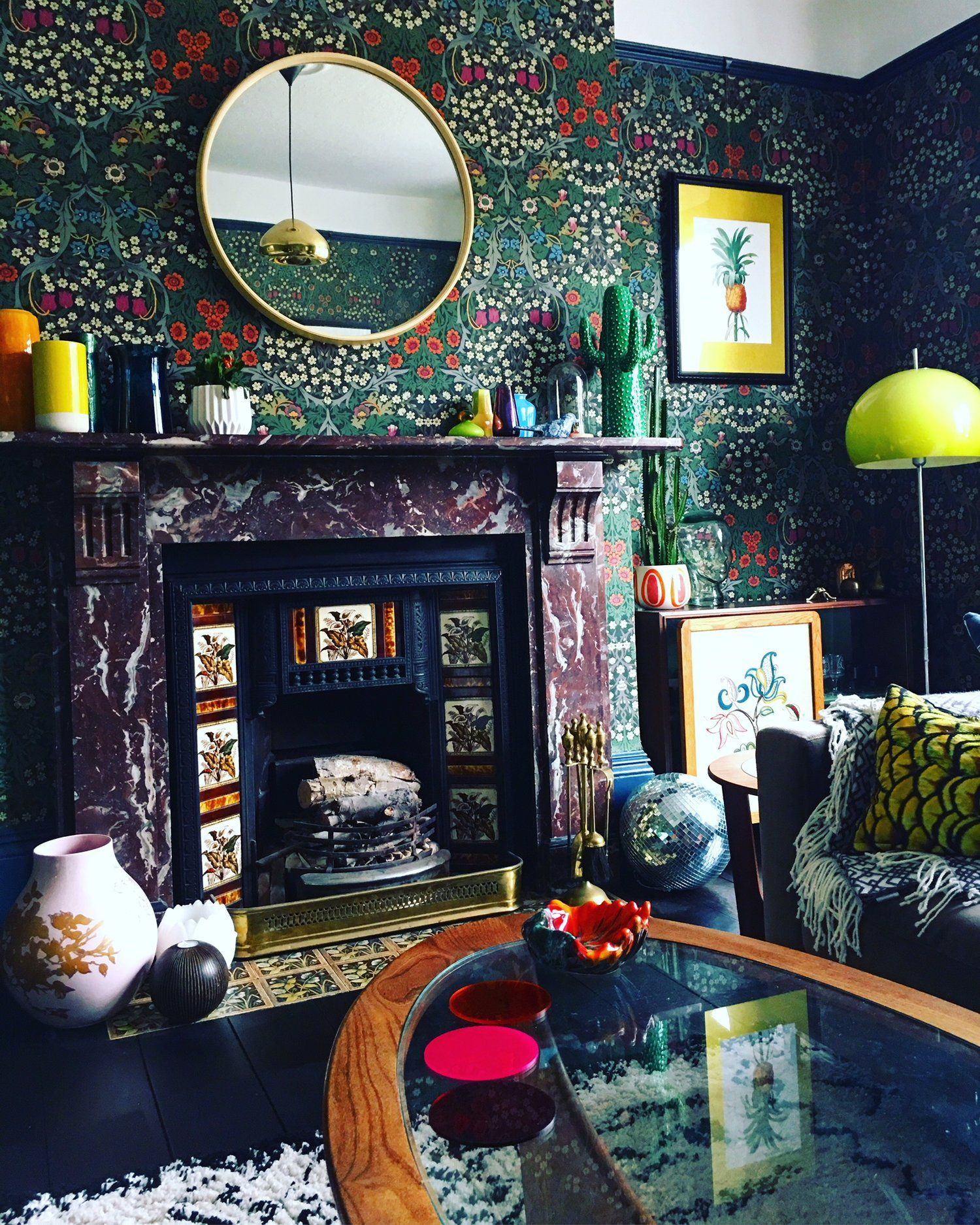 Claire William's Eclectic, Maximalist Home Home decor