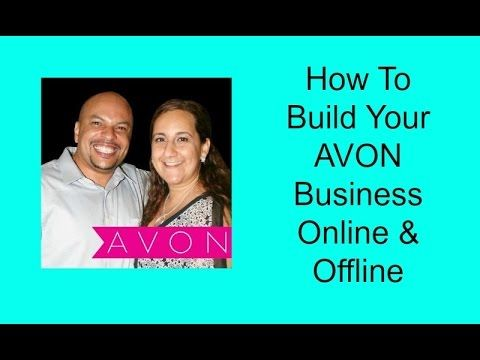 Gary & Lynette Bledsoe Share How To Build Your AVON Business Online & Of...