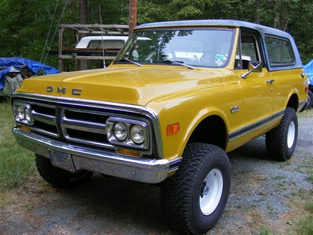 Gmc Jimmy Omg Its Our Truck Lol Same Mustard Yellow And