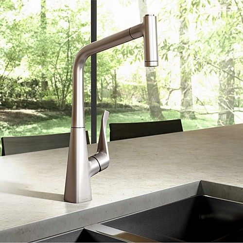 The Ultimate Kitchen Starts With A Pull Out Faucet Like The Metris 2 Spray  HighArc
