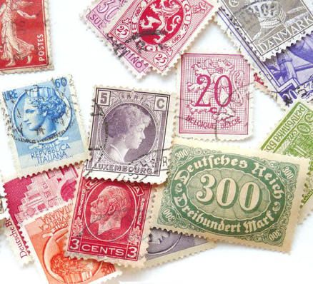 Assorted Vintage Stamps from around the world, found on Felt & Wire. #stamps #vintage_stamps