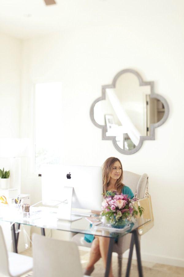 Home office  via Camilla Styles