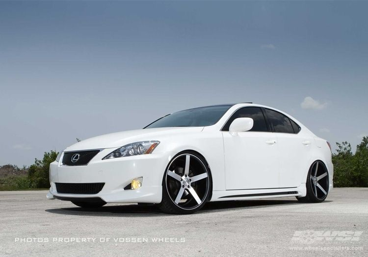 Photo 1 Lexus Is 350 Custom Wheels Vossen Cv3 20x Et Tire Size