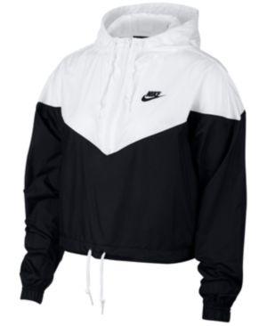 a1990b6f4761 Nike Sportswear Cropped Hooded Windbreaker - Black XS in 2019 ...