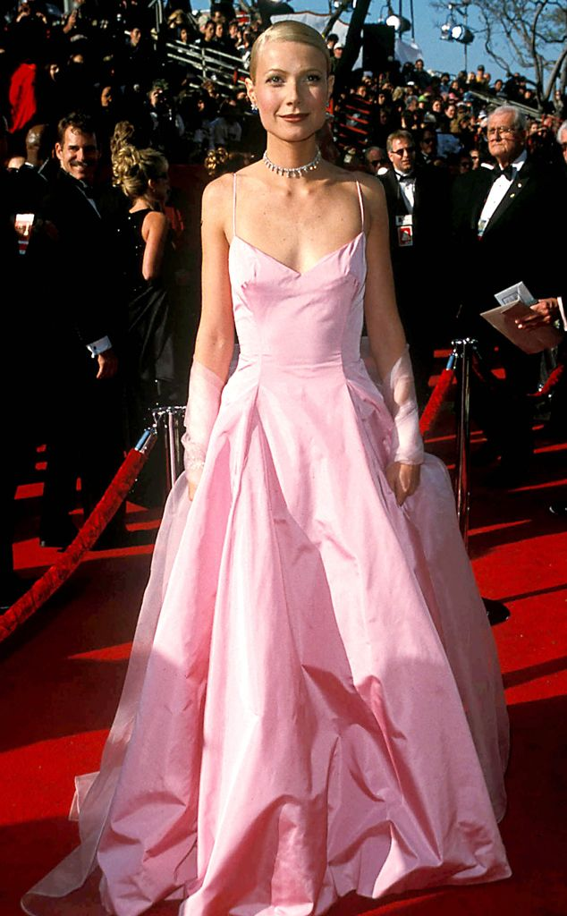 Gwyneth Paltrow From 50 Years Of Oscar Dresses Best Actress Winners From 1954 2014 Nice Dresses Dresses Oscar Dresses