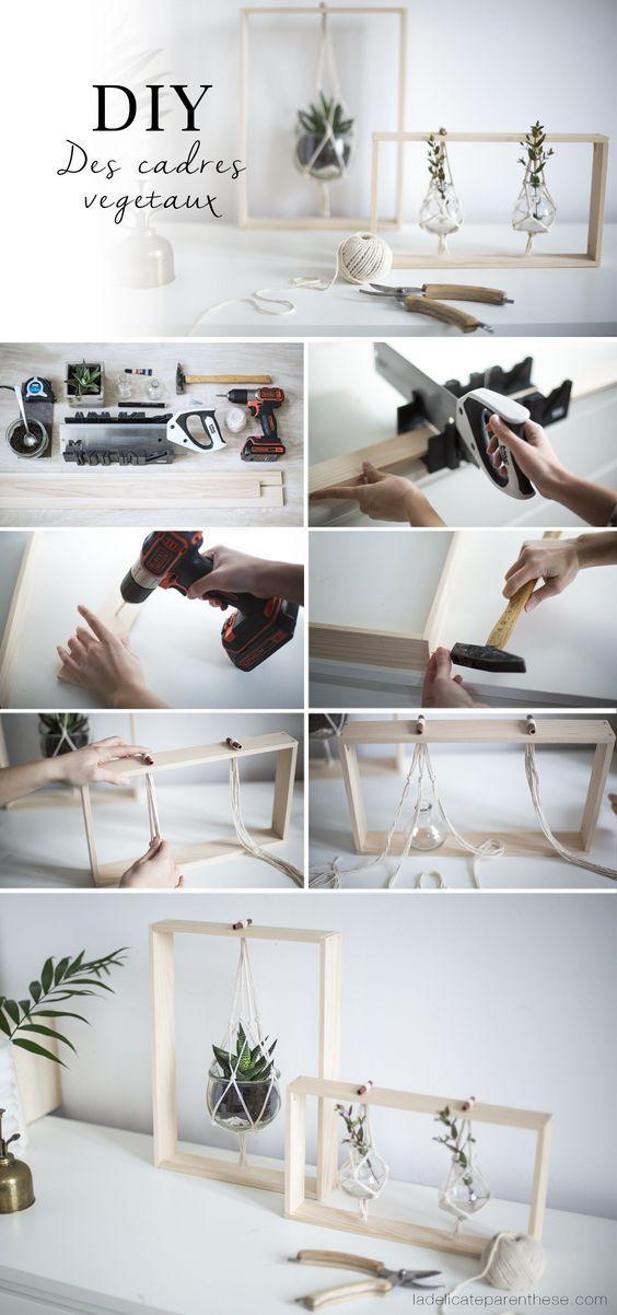[ DIY ] Des cadres végétaux pour sublimer votre décoration - Manner Anzug #bricolagefacile
