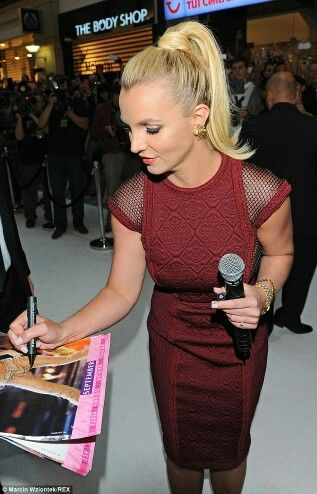 Trl Britney Jean Spears Red Jumpsuit Fancy Red Dresses