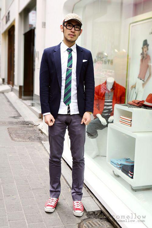 CatchG: Korean Men's Street Style Fashion #mens #glasses # ...