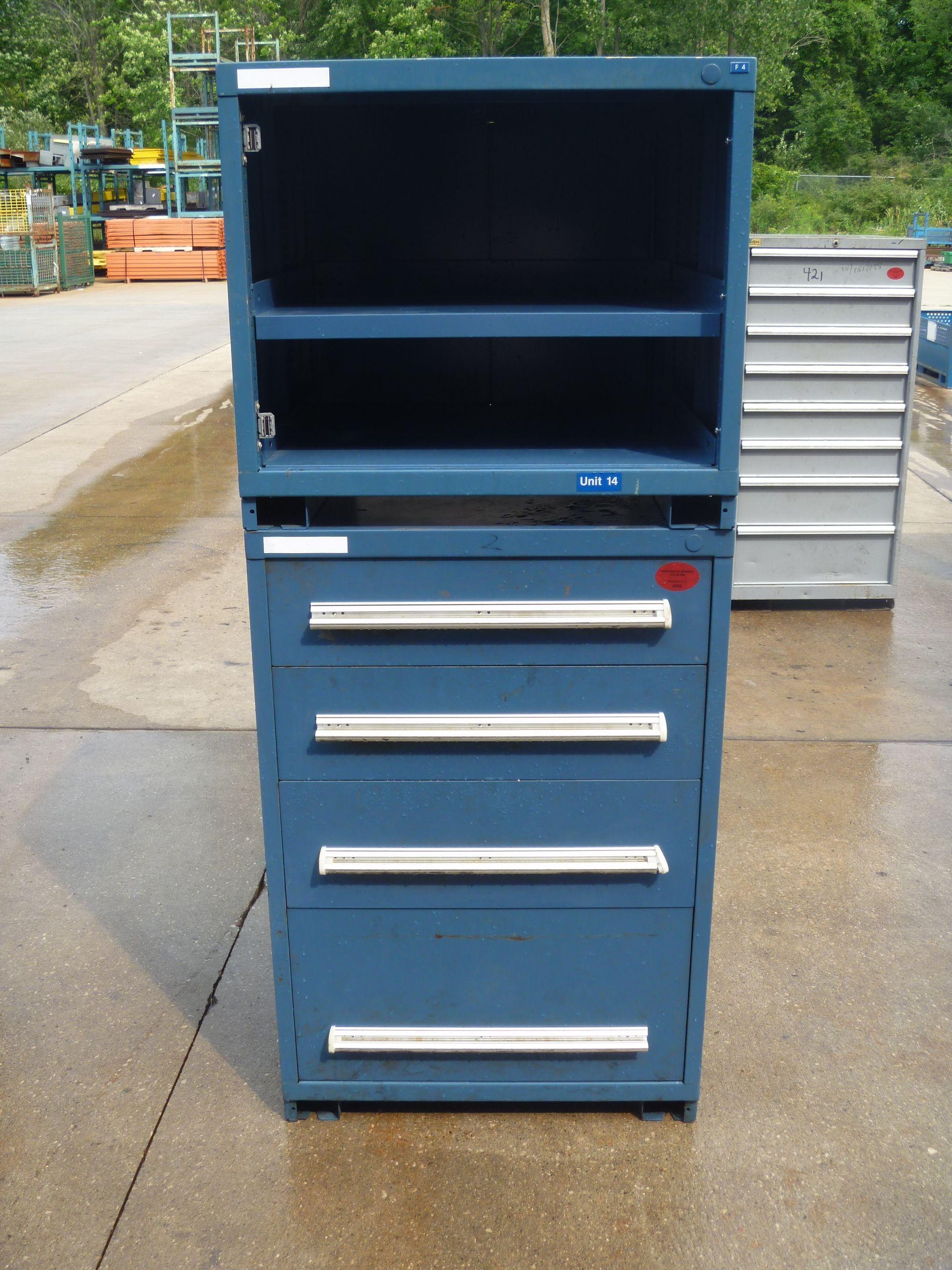 Elegant Stanley Vidmar Storage Cabinets