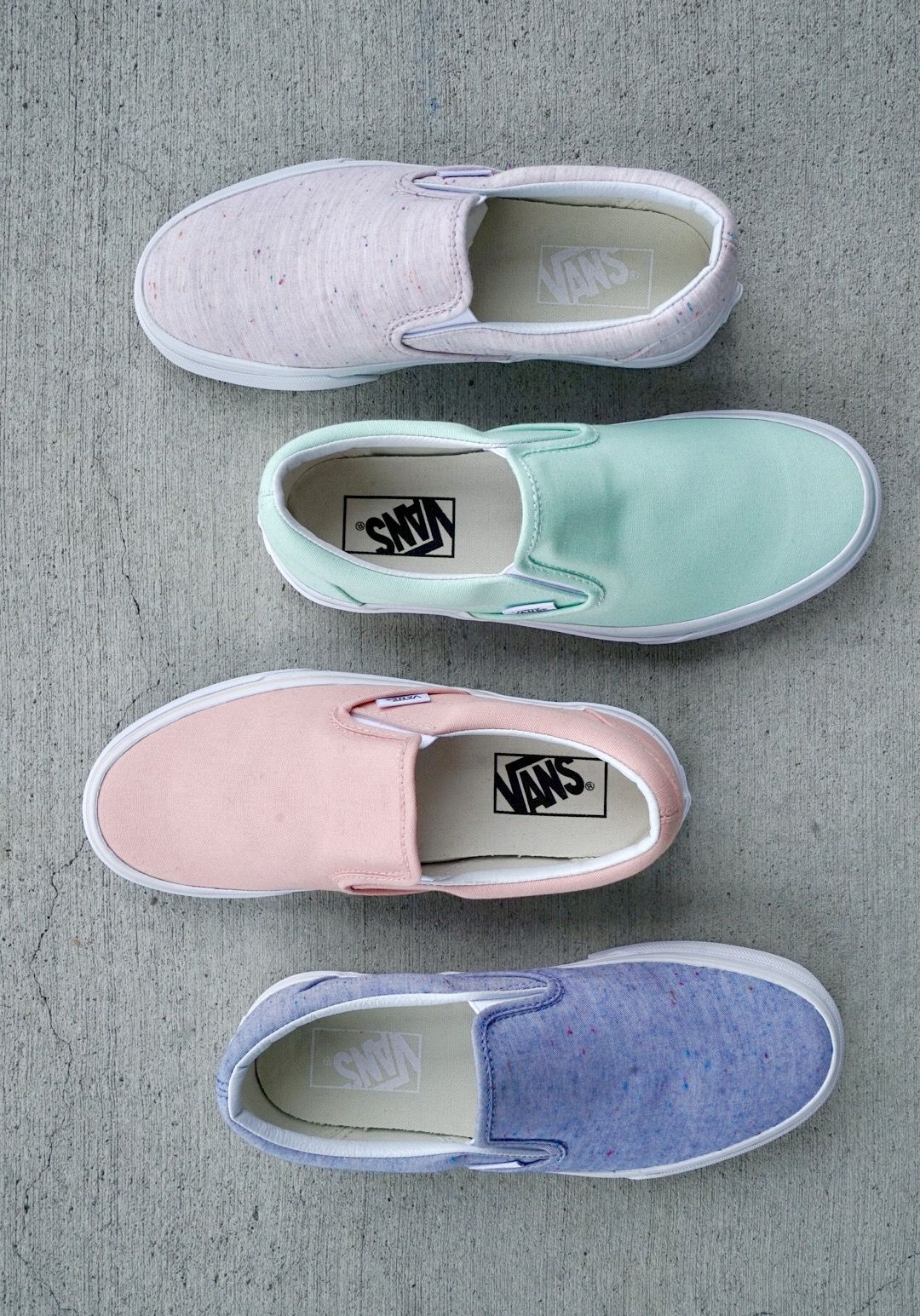 New Spring Slip Ons from Vans! How do you choose