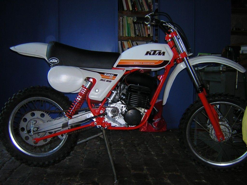 Ktm Mx 125 1979 Ktm Vintage Motocross Ktm Motorcycles