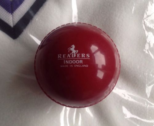 #Readers #indoor #cricket ball - red,  View more on the LINK: http://www.zeppy.io/product/gb/2/262178883624/