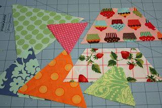Magnolia Bay Quilts: 60-Degree Quilt Tutorial - Part 1