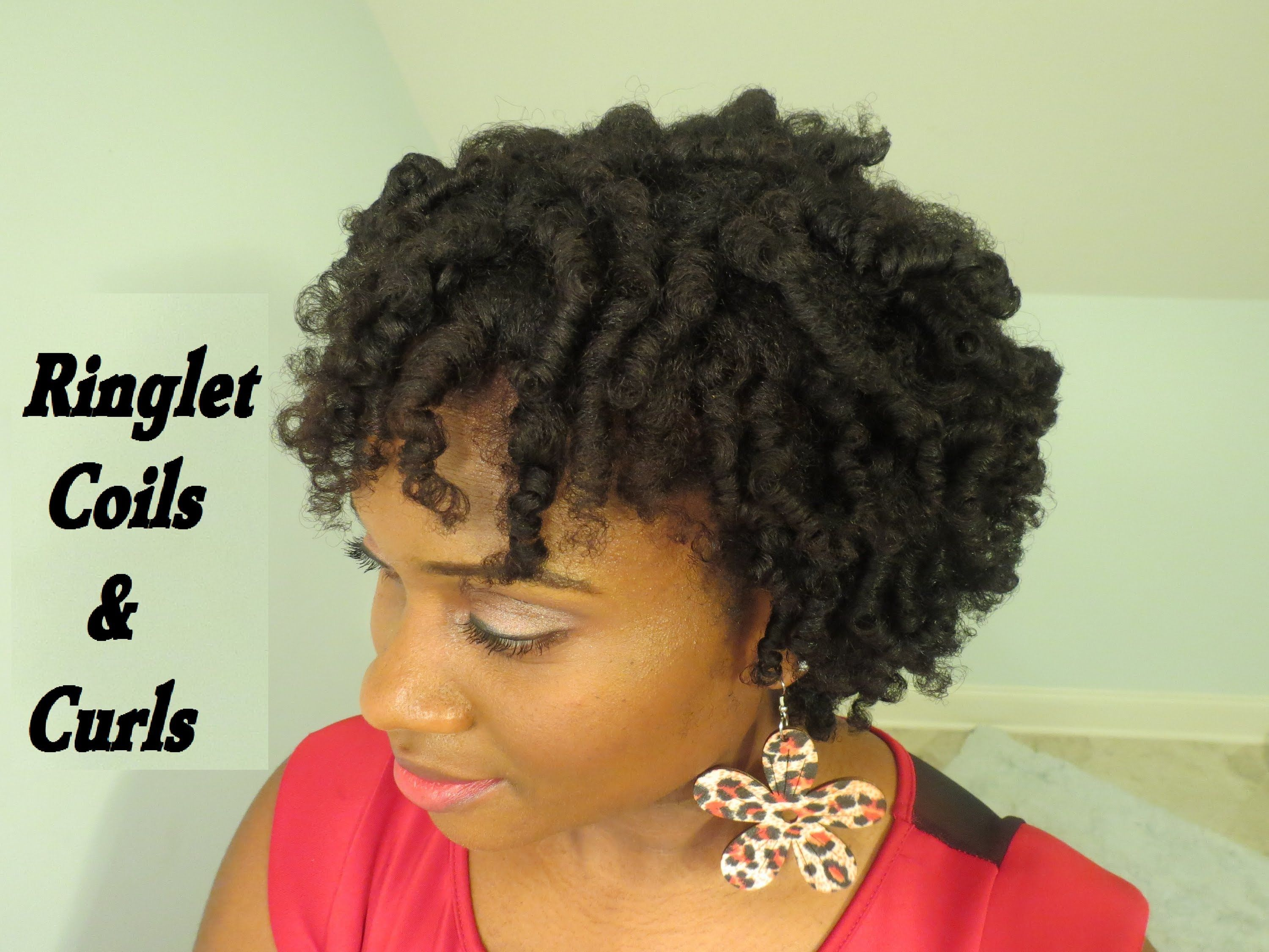 106 Frizz Free Coils & Curls Tutorial on 4c Natural Hair Perm Rod