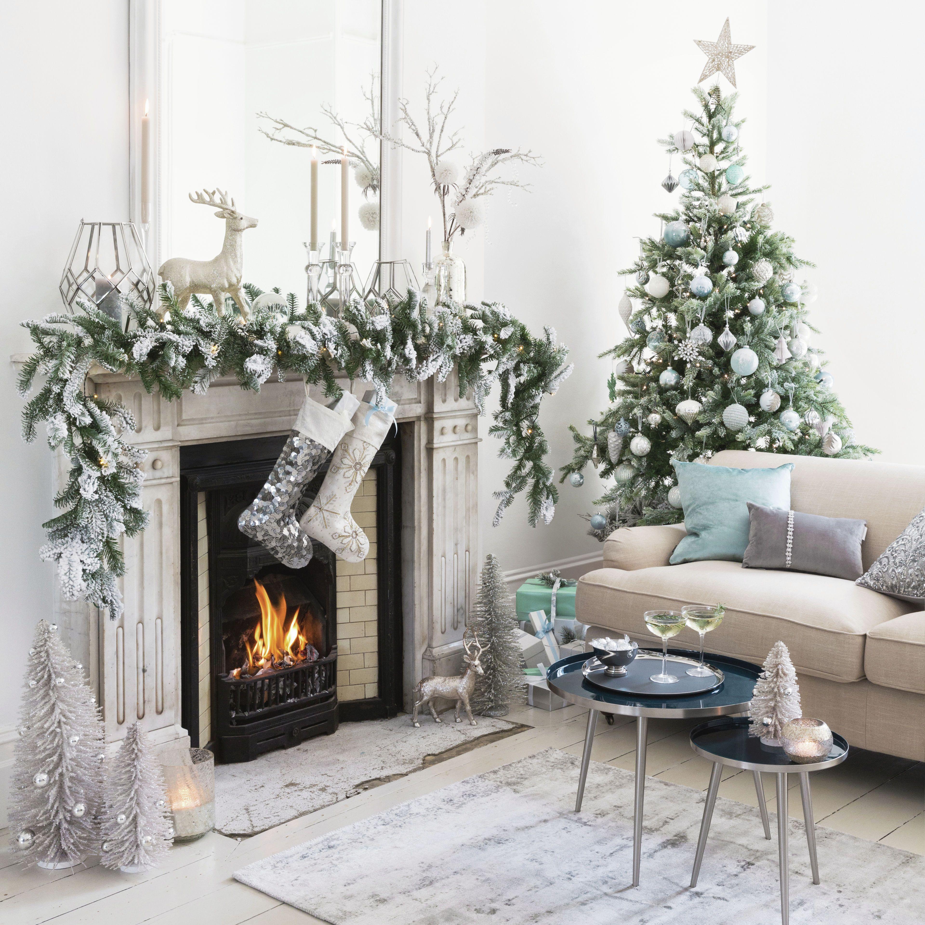 Verschneite Weihnachten #weihnachtsdekobalkon