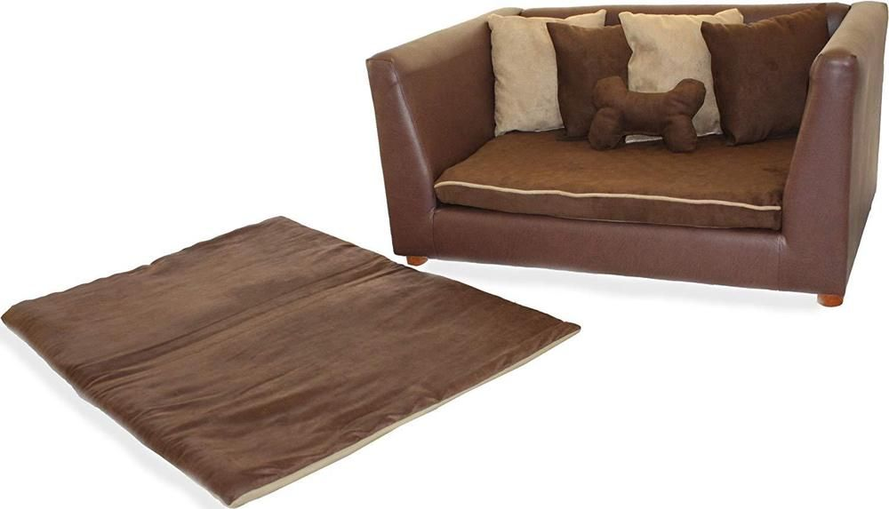 Large Pet Sofa Elegant Dogs Cats Warm Bed Lounge Orthopedic Couch Furniture Largepetsofa
