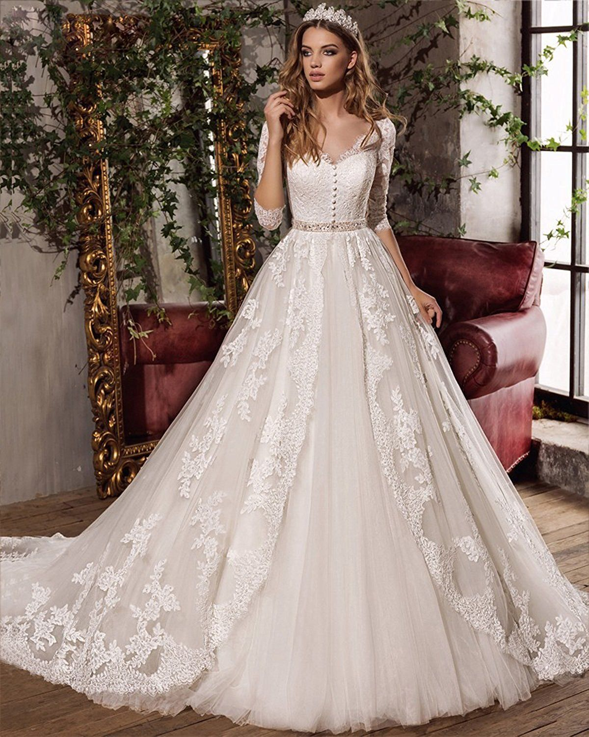 Vintage wedding dresses with sleeves  Wedding Dresses wedding dresses  wedding dresses lace  wedding