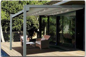 pergola sur mesure en aluminium extrud pergola adoss e grand choix de dimensions largeur x. Black Bedroom Furniture Sets. Home Design Ideas