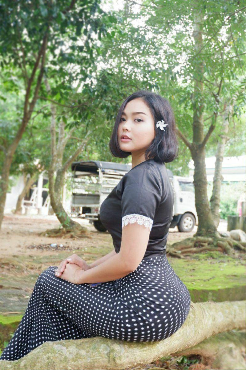asiatischen frau, nice ass