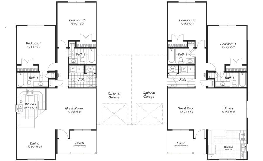 Superb Duplex Floor Plans With Garage Duplex Floor Plans Condo Floor Plans Floor Plans
