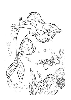 Arielle Die Meerjungfrau Ausmalbilder Disney Prinzessin Malvorlagen Malvorlagen Tiere Ausmalbilder Arielle