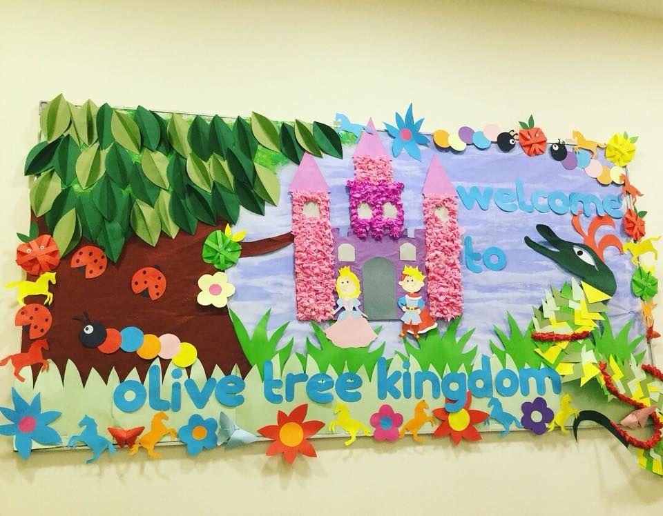 Fairytale Kingdom Classroom Display