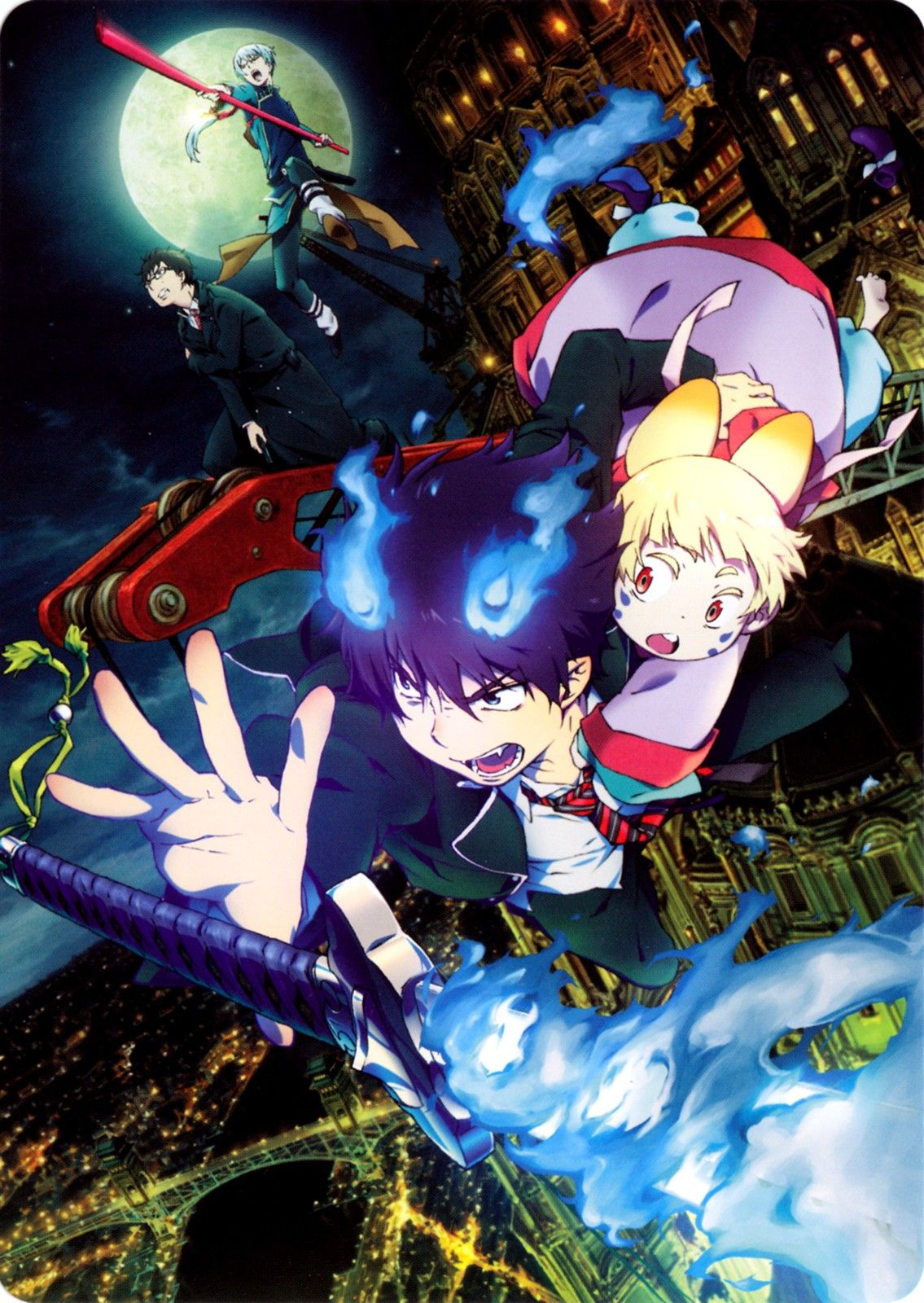Ao No Exorcist Movie Kawaii, Personnages, Manga