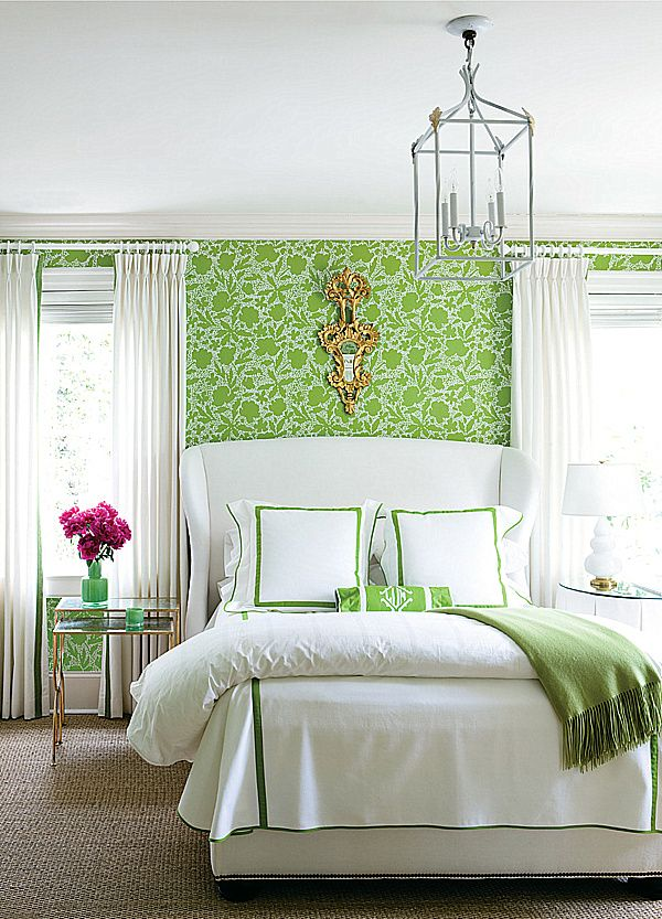 Shades of Green A Verdant Spring Decorating Palette Lime green