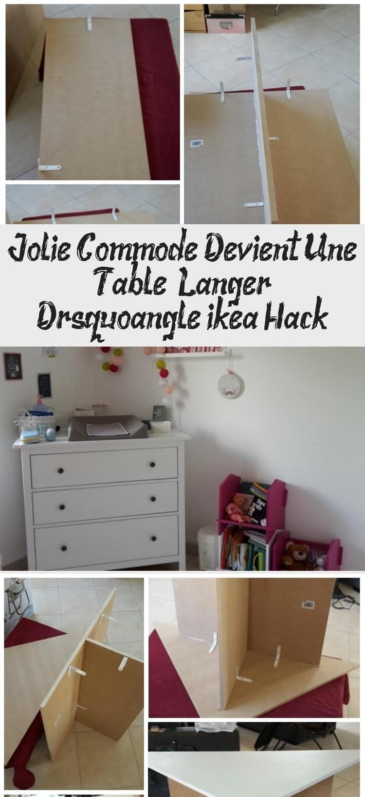 Commode A Langer Angle ikea hack: table à langer en coin #babyzimmerjungewinniepooh