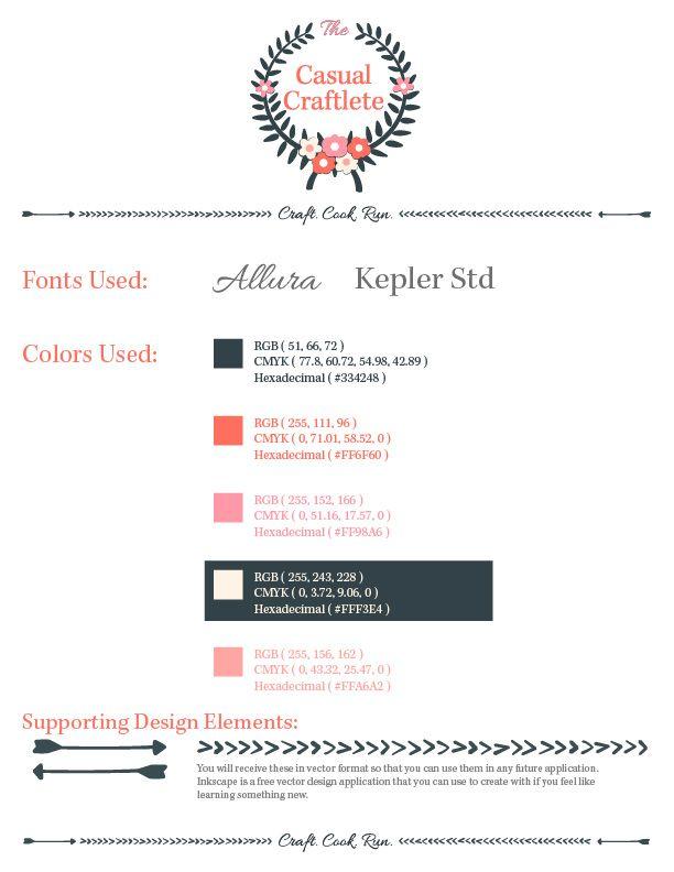 New Vintage-Modern Blog Design by www.lumne.net | www.thecasualcraftlete.com #design #blog #prettyblogdesign #graphicdesign